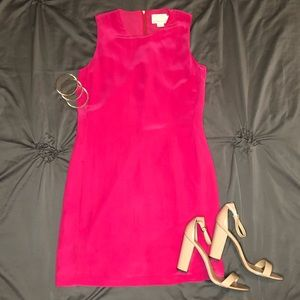 CYNTHIA ROWLEY silk pink dress